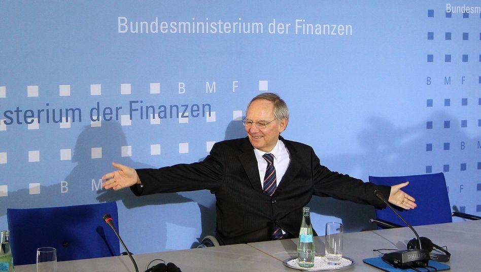 Bundesfinanzminister Schäuble: Es geht nicht um einen Forderungsverzicht