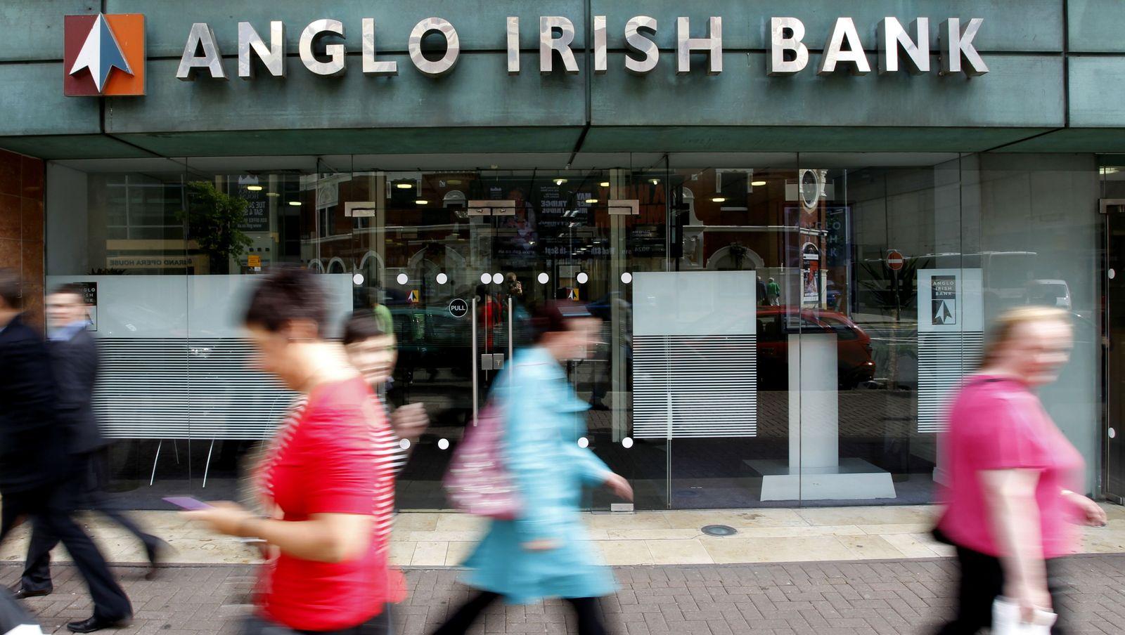 Ireland Paying The Bills / Anglo Irish Bank / Bank Irland