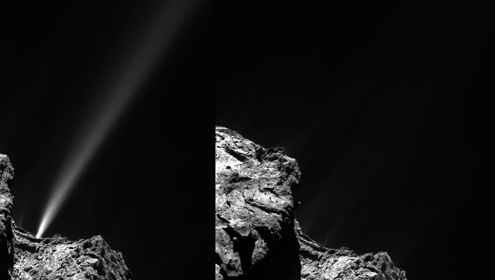 Komet Tschuri: Hallo Sonne