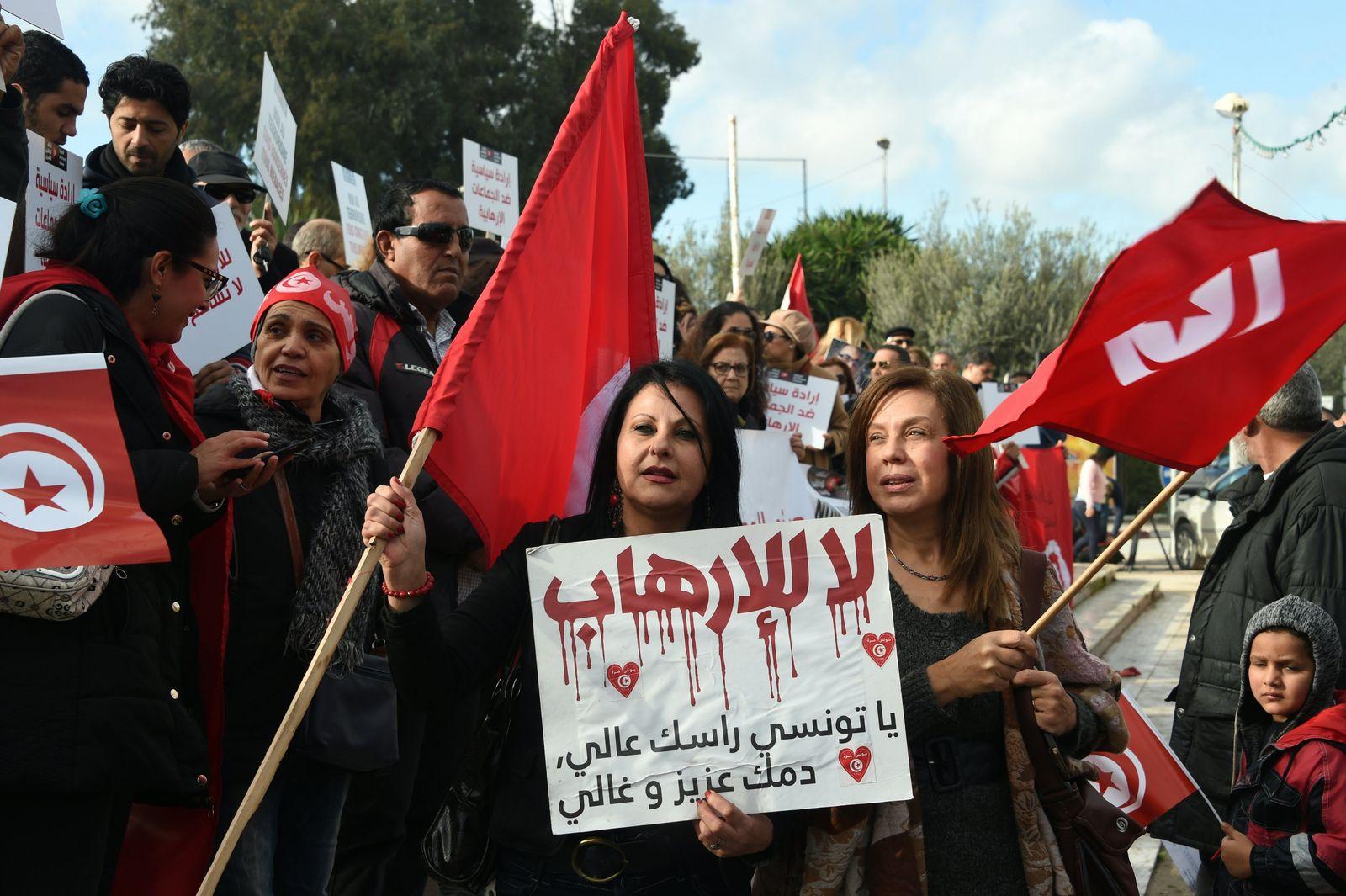 Tunesien Demo