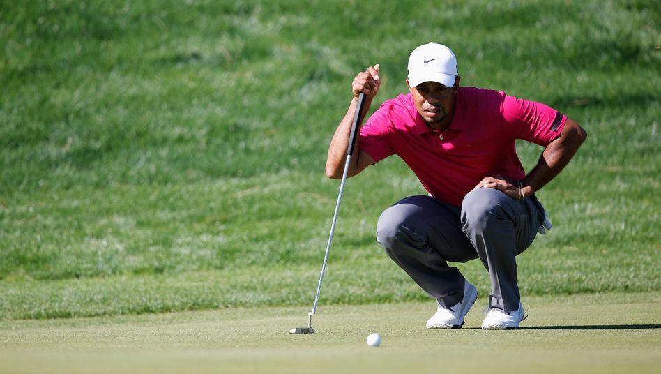 Tiger Woods: Regelverstoß im September