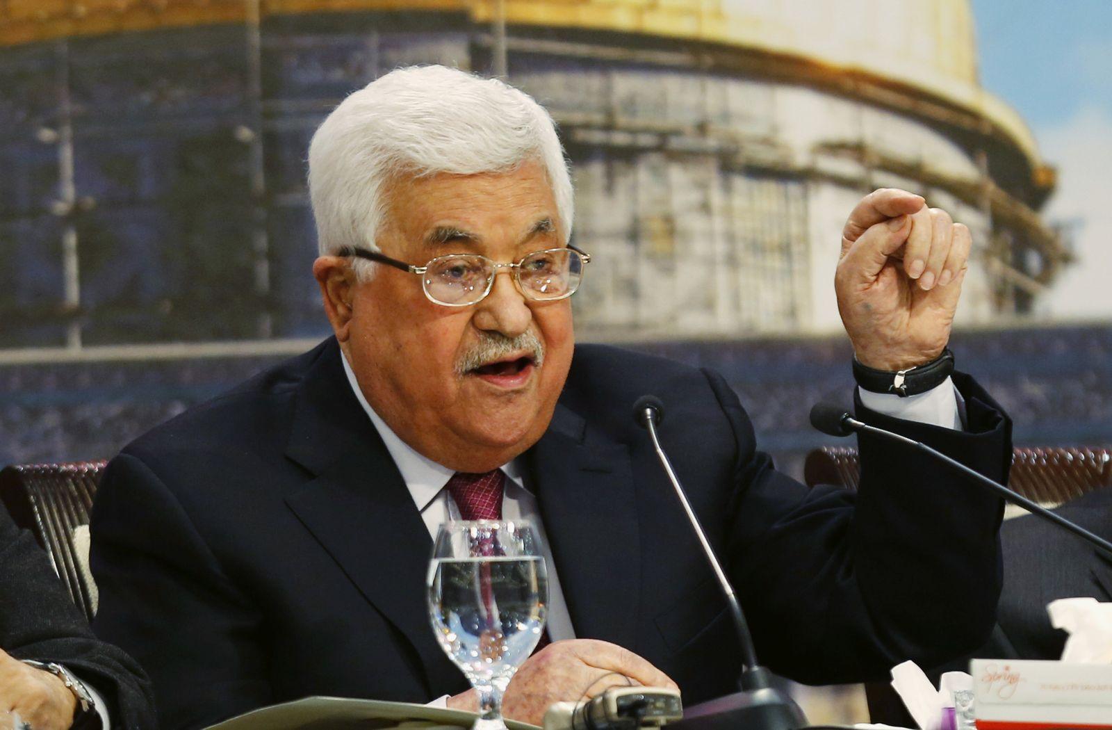 Palästinenser Nationalrat Abbas