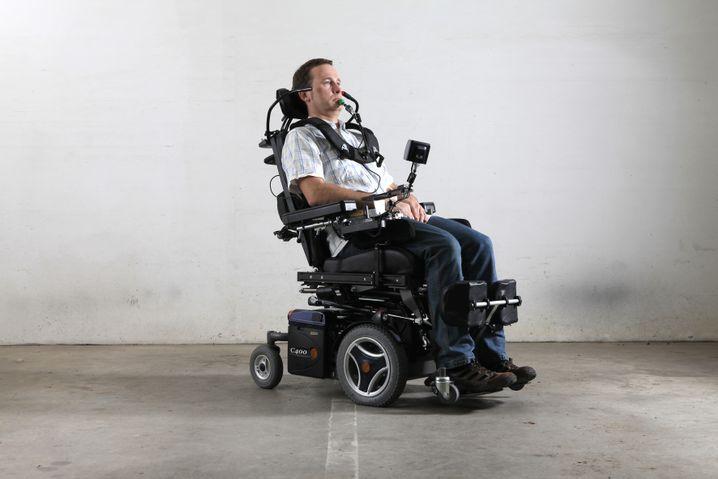 ALS-Patient: Den Krankheitsverlauf verzögern