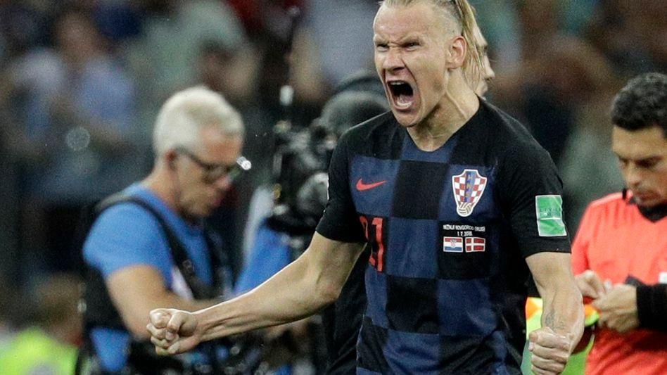 Kroatiens Domagoj Vida