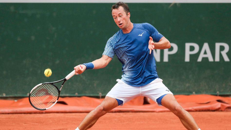 Nach den US Open schied Philipp Kohlschreiber auch bei den French Open in der ersten Runde aus