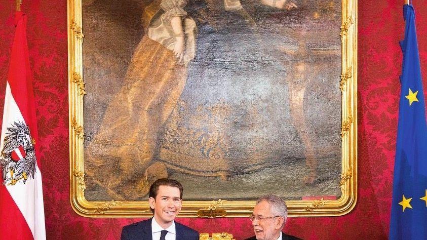 Kanzler Kurz, Präsident Van der Bellen(*): Der Risiken bewusst