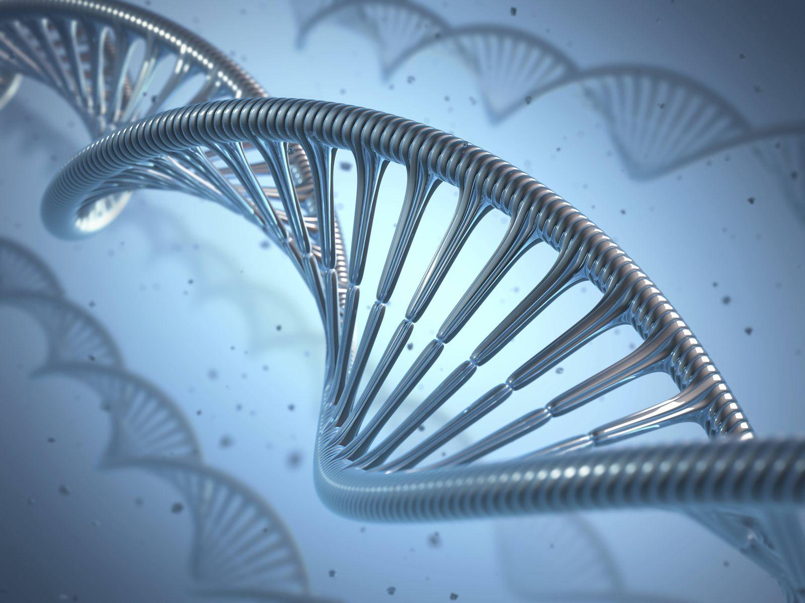 Medizin/ DNA/ Doppelhelix