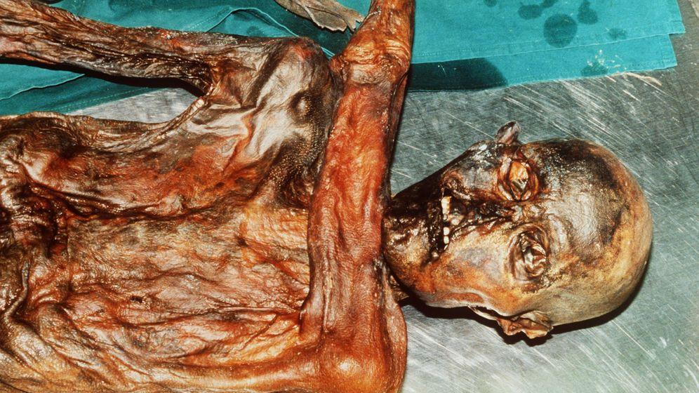 Ötzi-Fund: Der Tote, der aus der Kälte kam