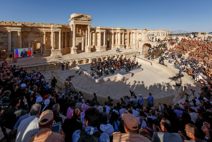 Konzert in Palmyra am 6. Mai