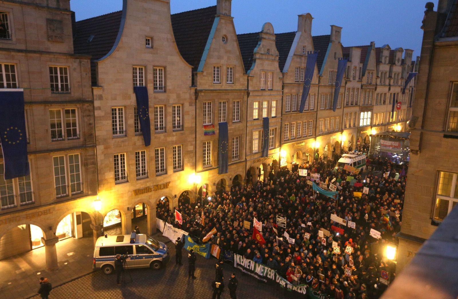 Neujahrsempfang der AfD Münster