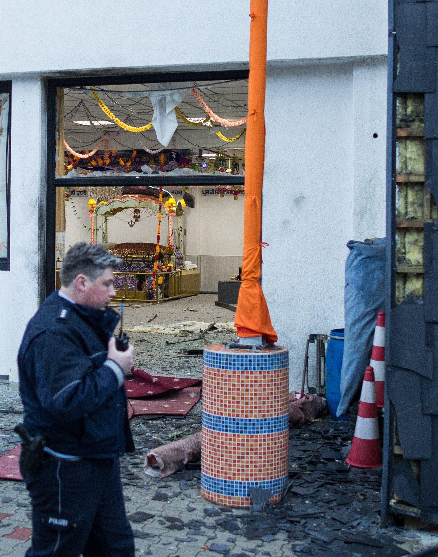 Verletzte bei Explosion in hinduistischem Gebetshaus