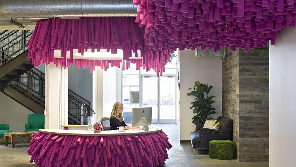 Bürodesign: Einmal durchs Bild steigen, bitte