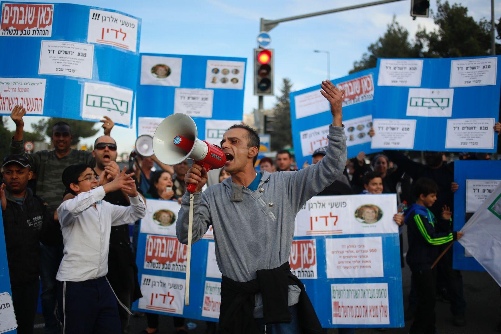 Teva/ Israel/ Streik/