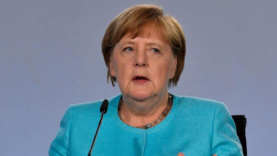 """Angela Merkel (CDU): """"Da liegt noch ein Riesenberg an Arbeit vor uns"""""""