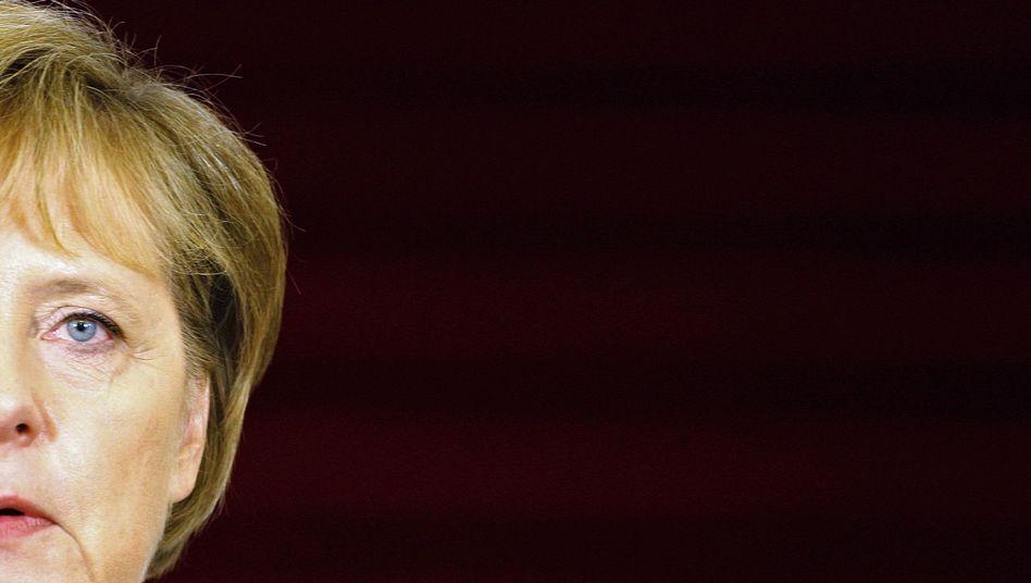 """CDU-Vorsitzende Merkel: """"Wahrscheinlich ziemlich konservativ"""""""
