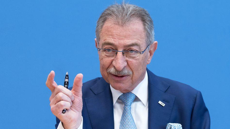 """BDI-Präsident Dieter Kempf: """"Es darf kein Eindruck unsauberen Verhaltens entstehen"""""""