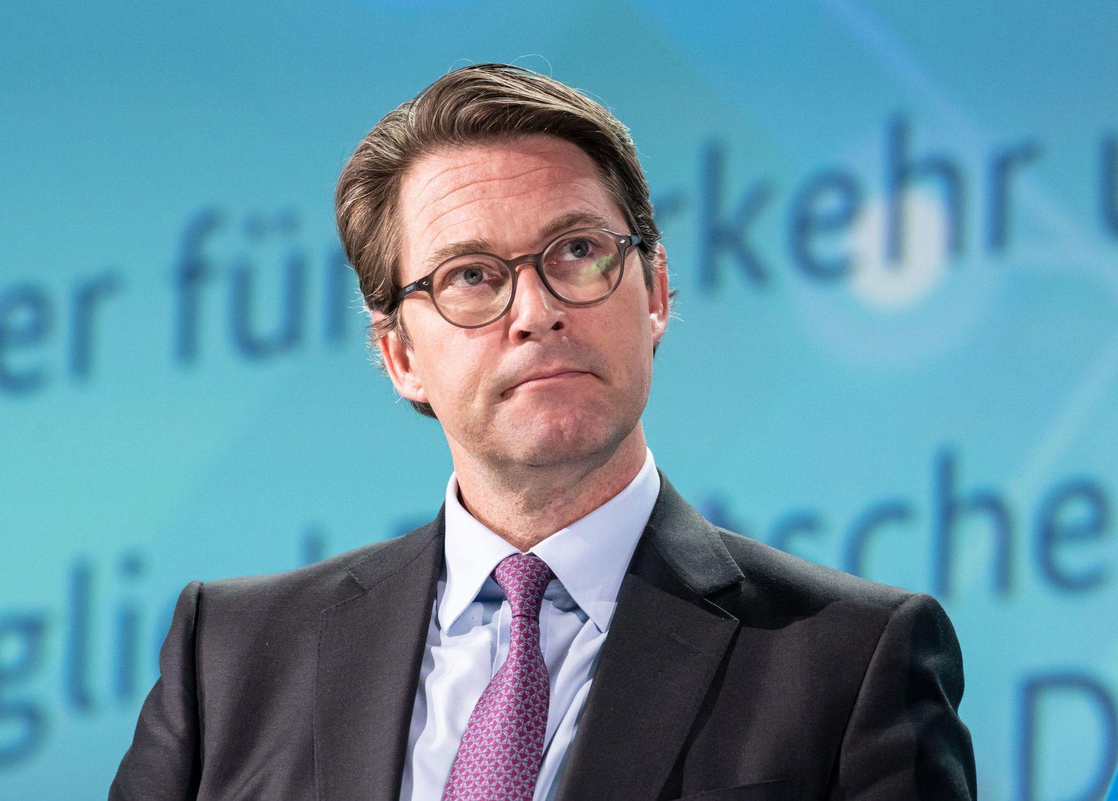 Verkehrsminister/ Andreas scheuer
