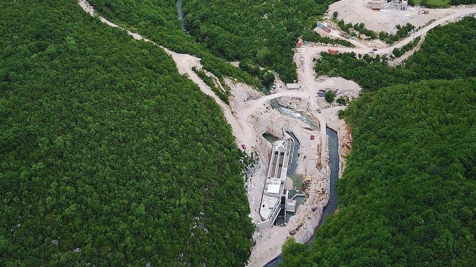 Kraftwerk einer Kelag-Firma in Bosnien und Herzegowina