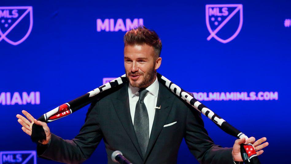 David Beckham - so sieht er jetzt aus