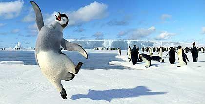 """""""Happy Feet""""-Pinguin: Das Box Office in Schwung bringen"""