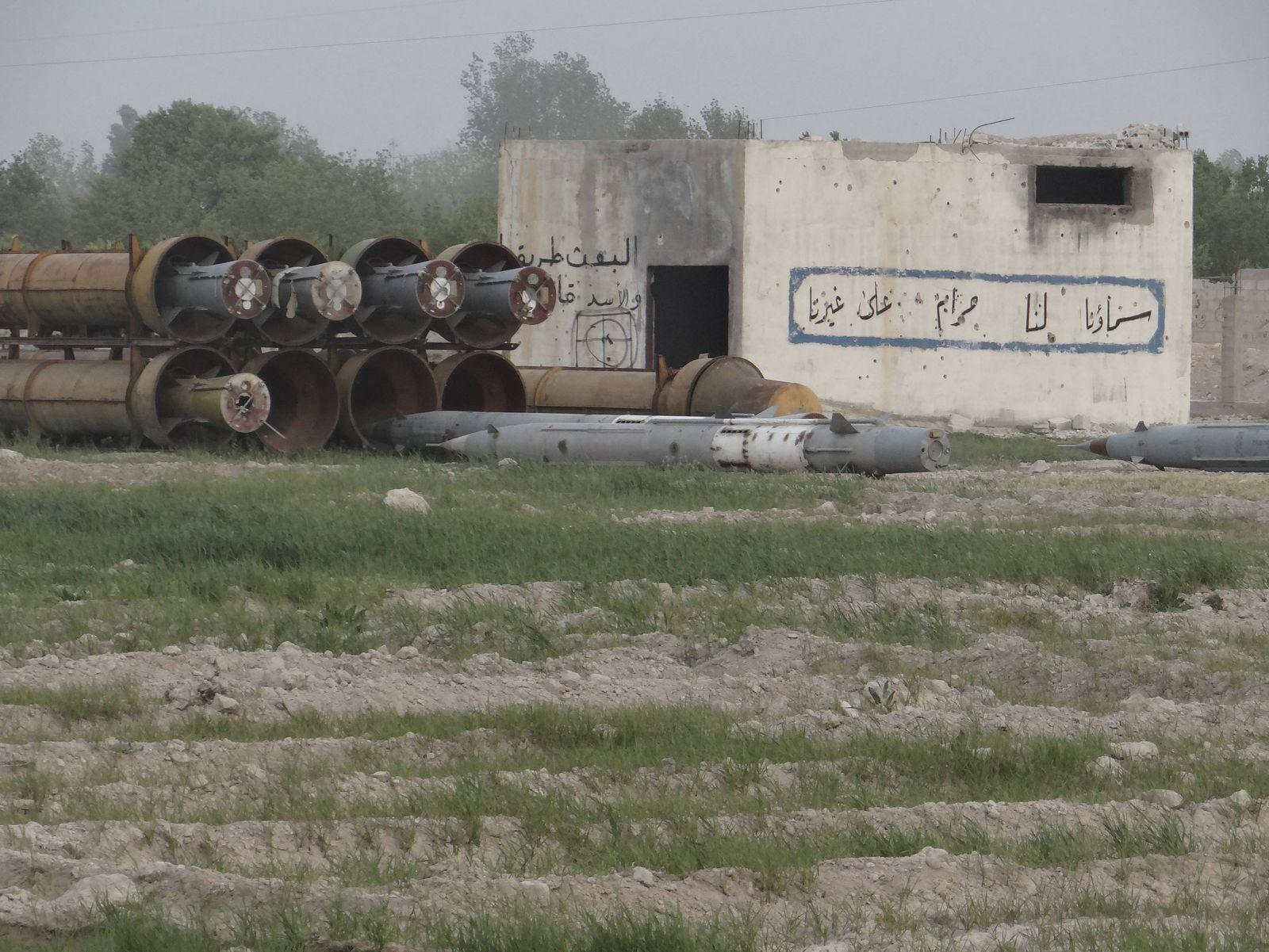 Syrien Militärbasis Damaskus