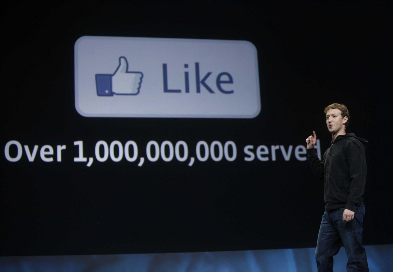 NICHT MEHR VERWENDEN! - Zuckerberg/ Facebook/ Like Knopf