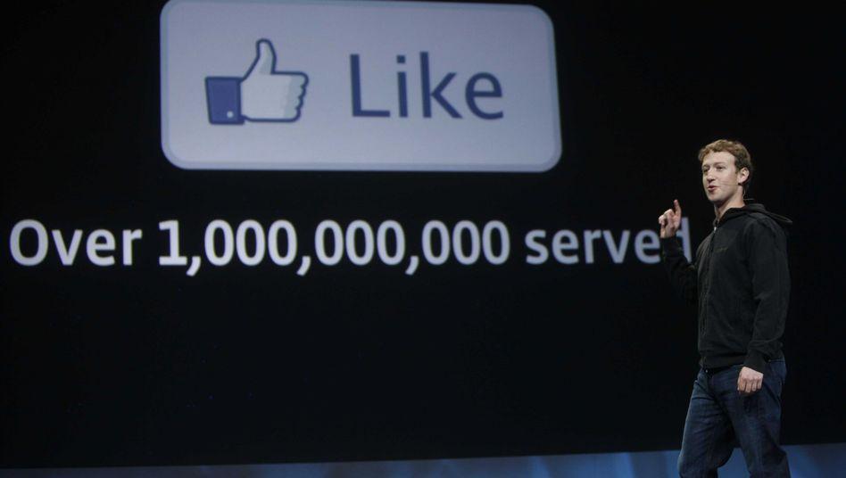 """""""Like""""-Schaltfläche bei Facebook: Auch als Kindername geeignet"""