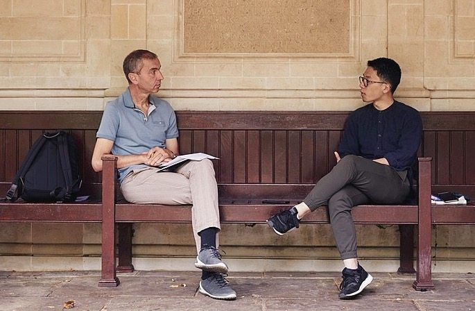 """Law during his interview with DER SPIEGEL journalist Jörg Schindler: """"The global community needs to act as a coherent front whenever they do business with China: to enforce human rights, to hold them accountable."""""""