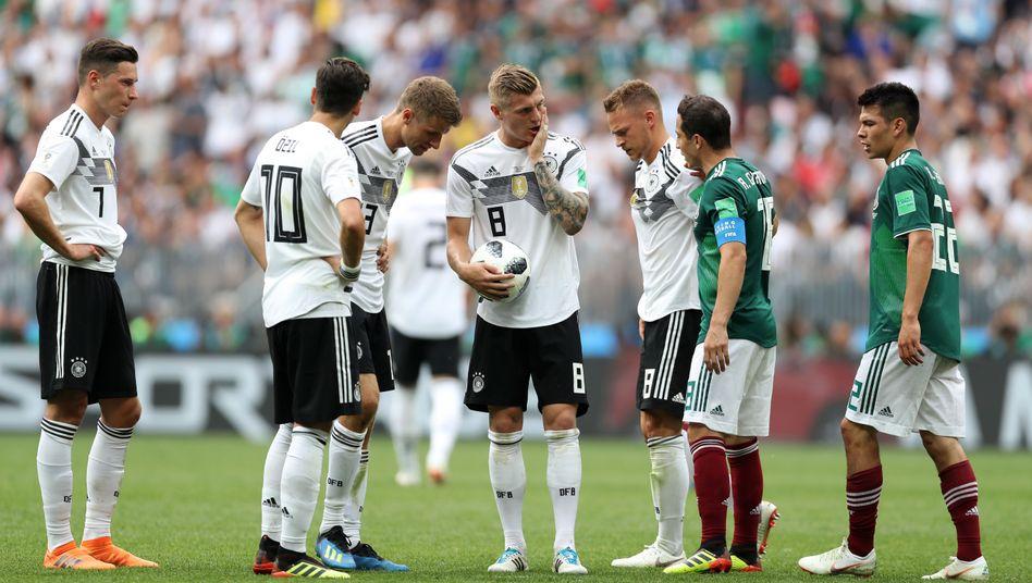 Ratlose deutsche Mannschaft