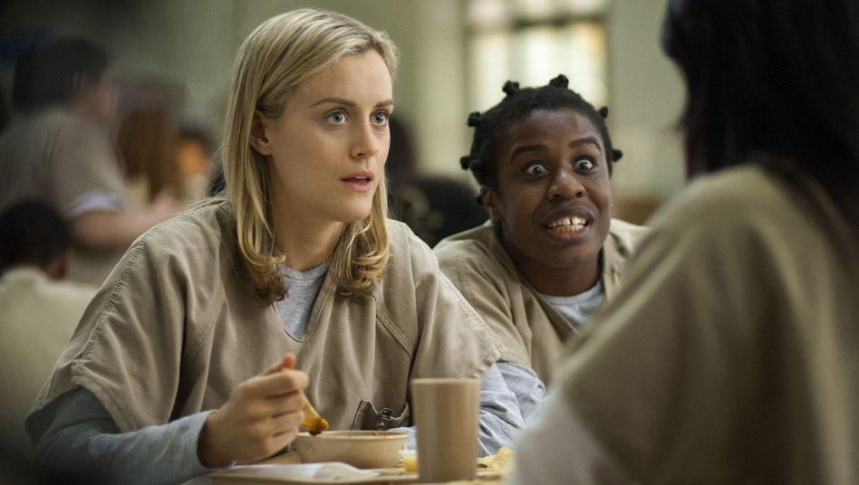 """Szene aus der Netflix-Serie """"Orange is the New Black"""": Fortschritte gegenüber HBO"""