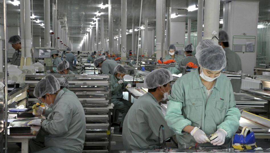 Produktion von Solarmodulen in China: EU-Staaten fürchten Handelskrieg