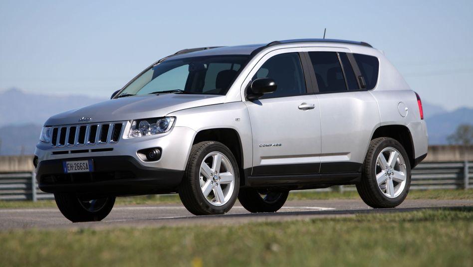 Jeep Compass: Die Fiat-Tochter muss insgesamt rund 630.000 Autos zurückrufen