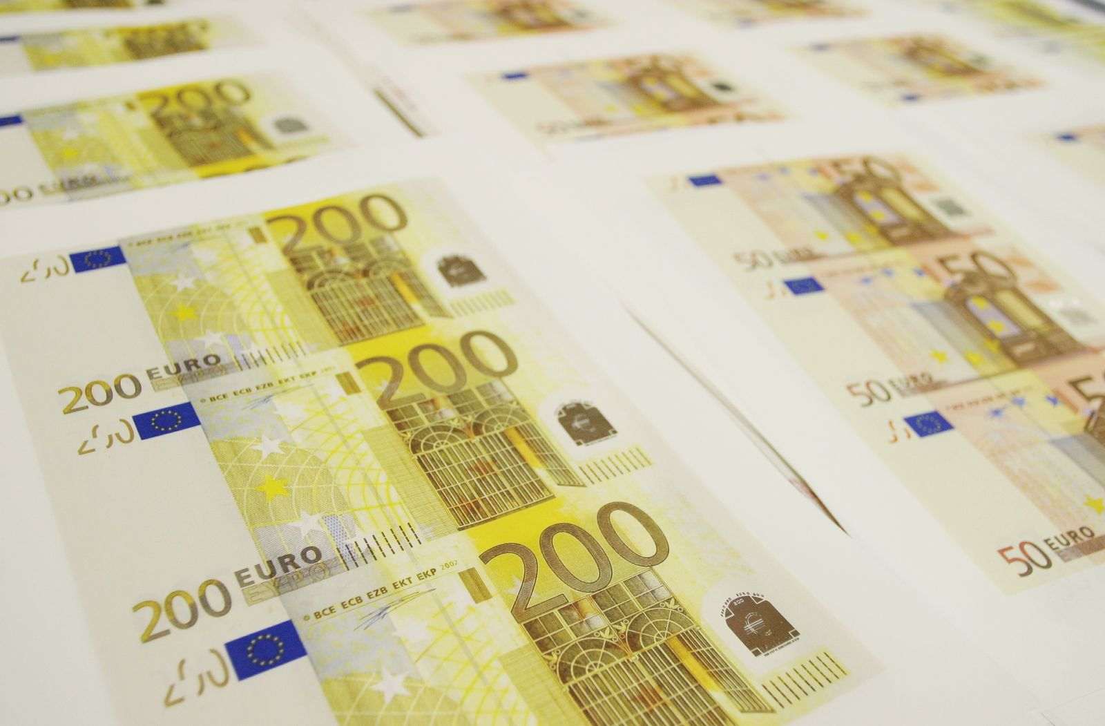 Euro / Geldschein / Euroschein