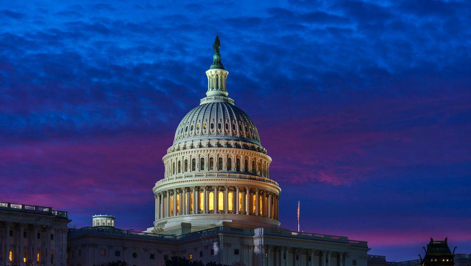 Kapitolsgebäude in Washington DC