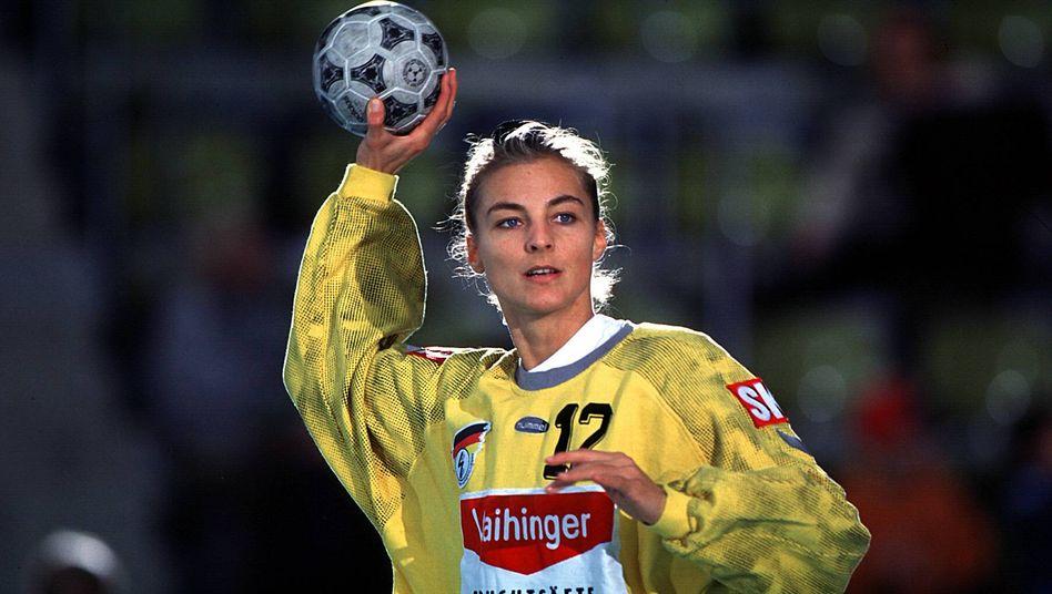1997 stand sie bei der WM im Tor, 24 Jahre später geht Christine Lindemann für die Luchse aus Buchholz wieder zwischen die Pfosten