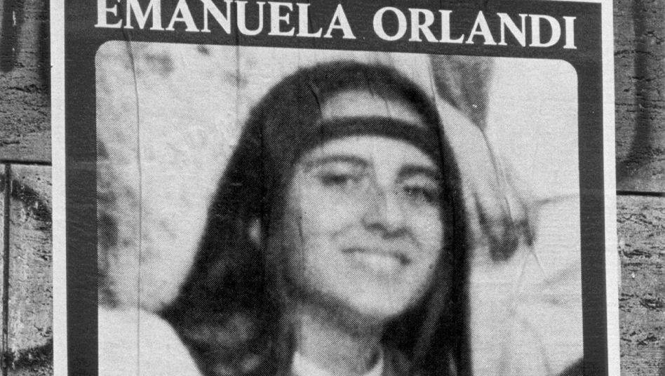 Die 15-jährige Emanuela Orlandi verschwand 1983
