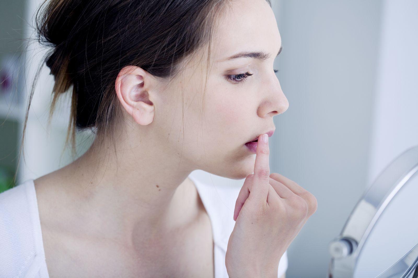 EINMALIGE VERWENDUNG Herpes