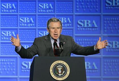 Der Staat soll für den Bau von Atomkraftwerken bürgen: Bush stellt seine Energiepolitik vor