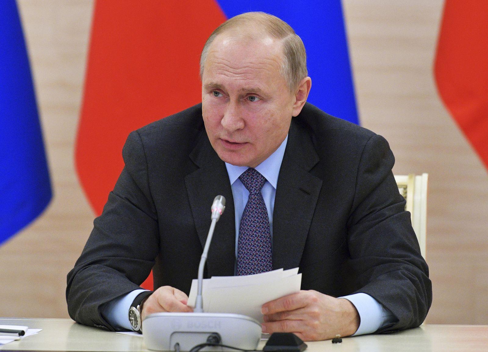 Russland Putin