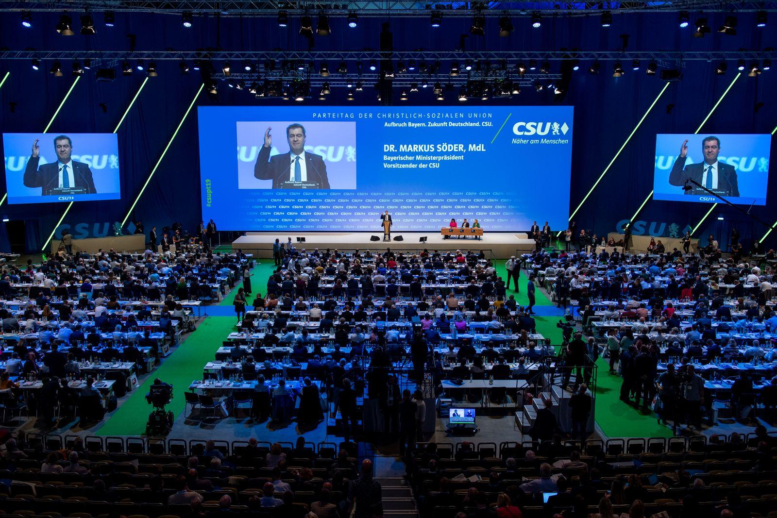 CSU-Parteitag in München