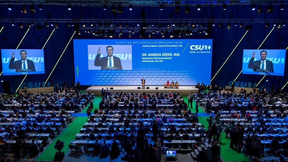 CSU-Parteitag 2019 München: Online will man nicht länger als drei Stunden tagen