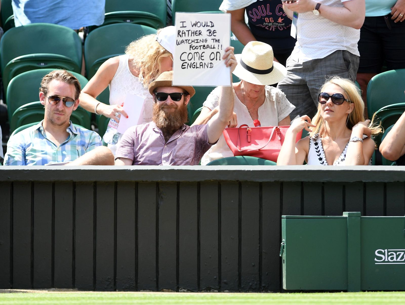 Wimbledon / Fan