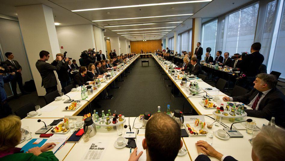 Koalitionsgespräche: Einigung bei Kassenfinanzierung