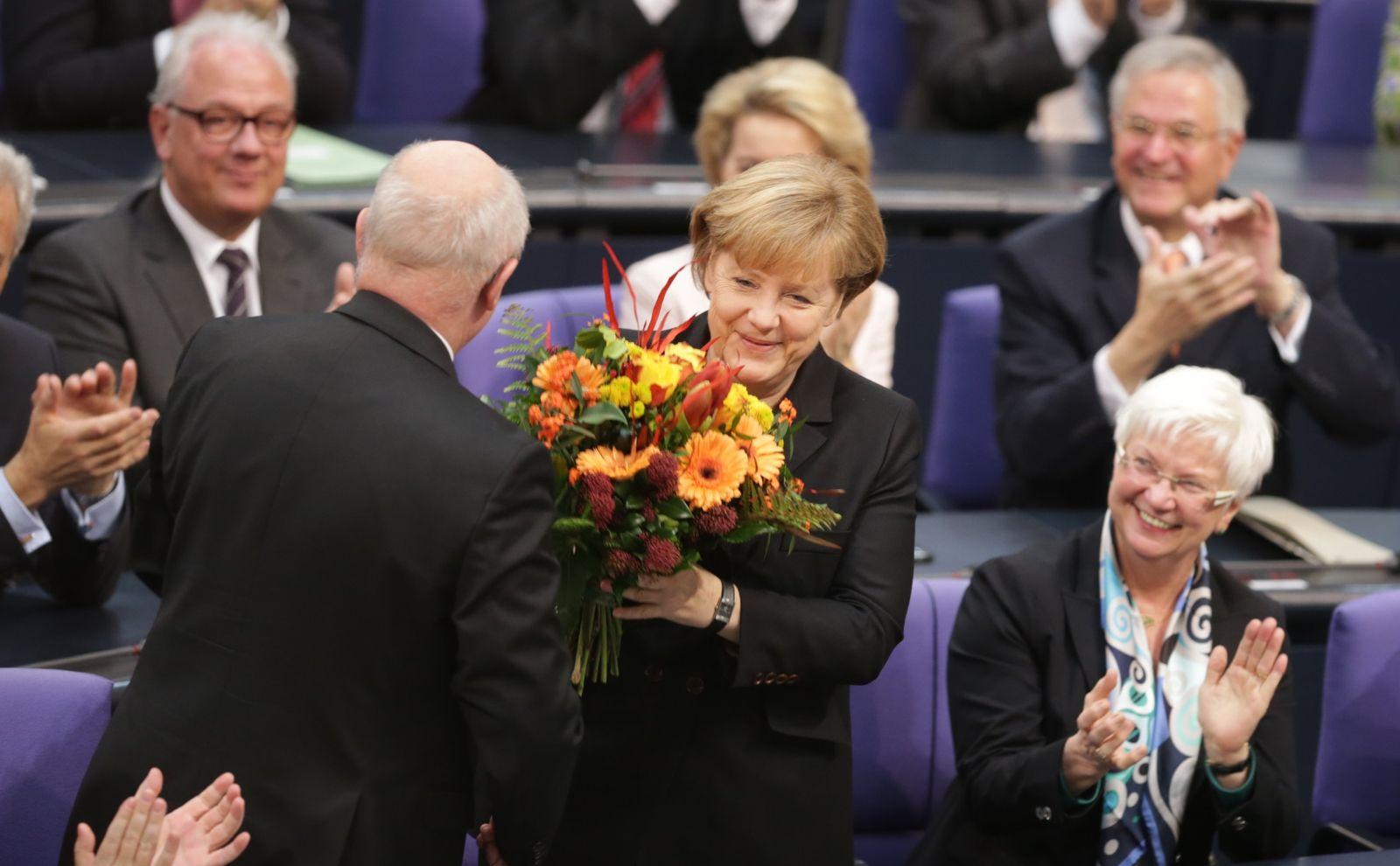 Merkel / Kanzlerwahl / Vereidigung #9