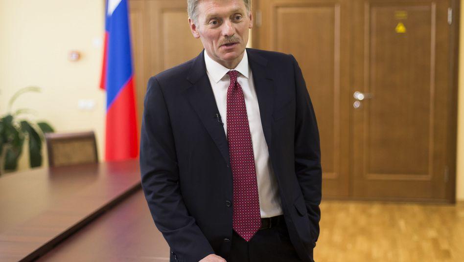 Kreml-Sprecher Dmitrij Peskow