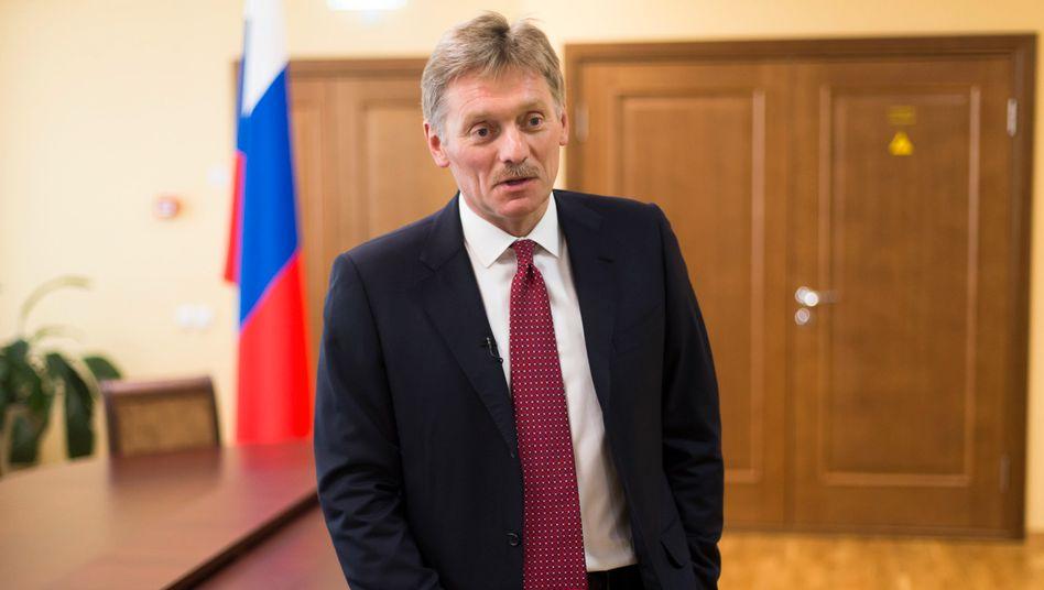 Putins Sprecher Dmitrij Peskow