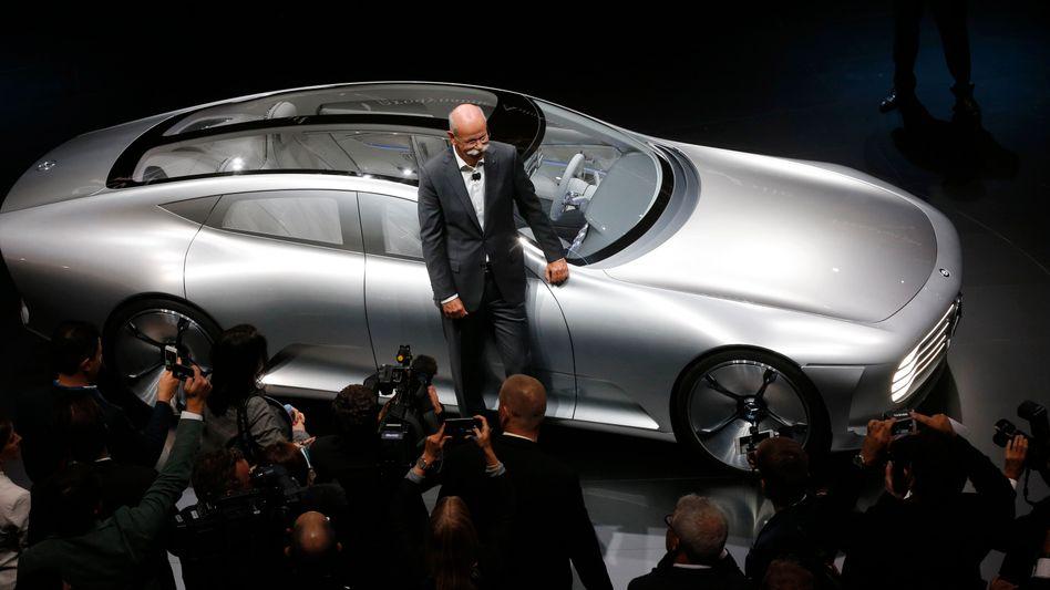 """Daimler-Chef Zetsche auf der IAA: """"Zweites deutsches Wirtschaftswunder"""""""