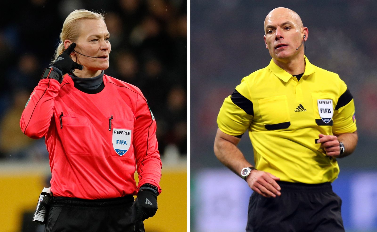 Former referees Bibiana Steinhaus and Howard Webb married