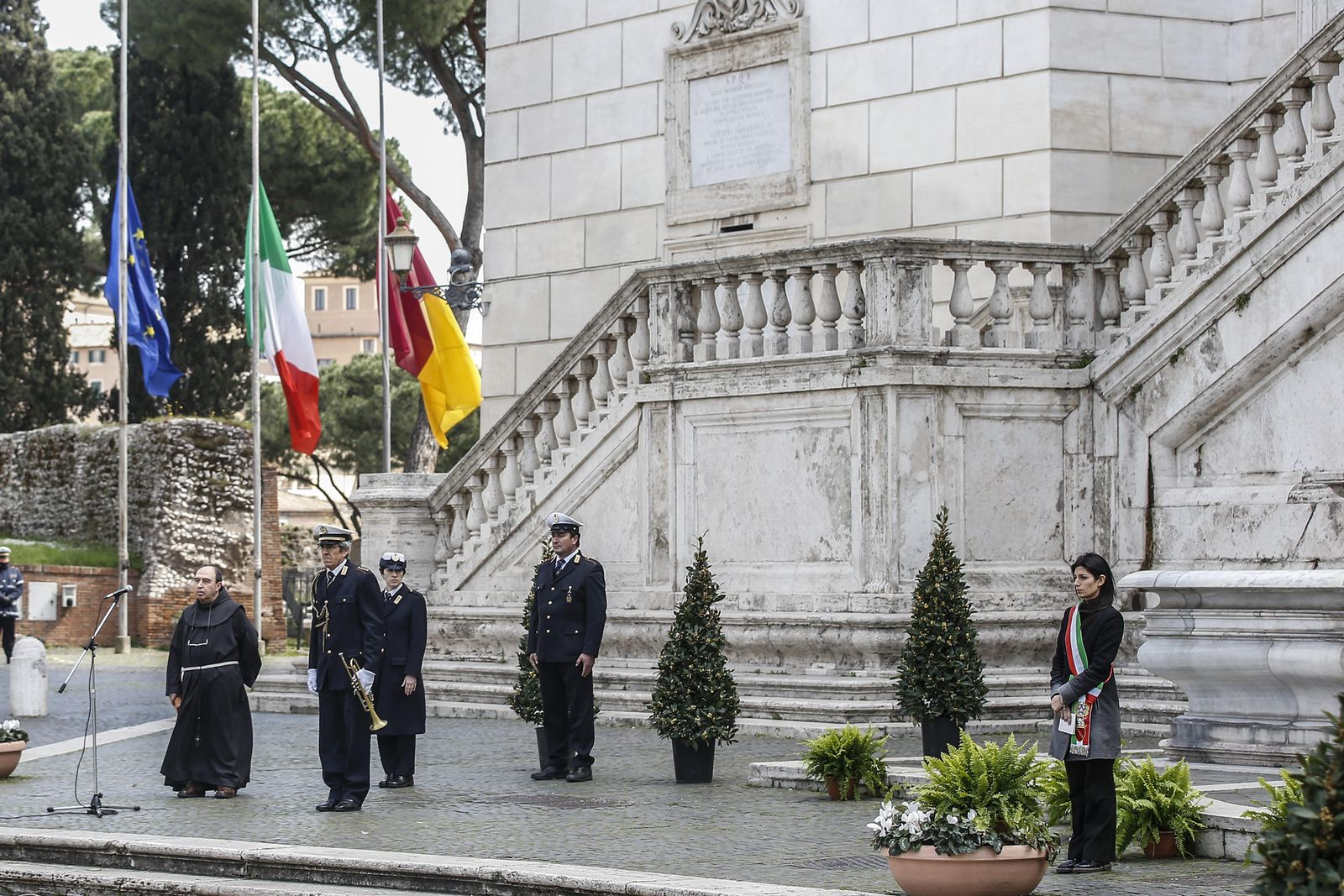 Coronavirus in Rome, Italy - 31 Mar 2020