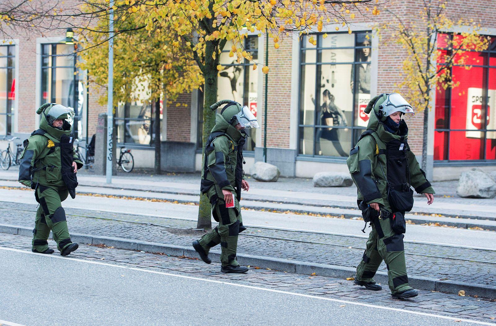 Dänemark Bombendrohungen Einkaufszentrum